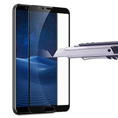 Pellicola in Vetro Temperato Protettiva Integrale Proteggi Schermo Film F07 per Huawei Honor V10 Nero