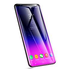 Pellicola in Vetro Temperato Protettiva Integrale Proteggi Schermo Film F08 per Samsung Galaxy S9 Plus Nero