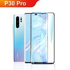 Pellicola in Vetro Temperato Protettiva Integrale Proteggi Schermo Film F09 per Huawei P30 Pro Nero