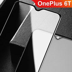 Pellicola in Vetro Temperato Protettiva Integrale Proteggi Schermo Film F09 per OnePlus 6T Nero