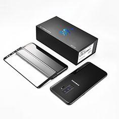 Pellicola in Vetro Temperato Protettiva Integrale Proteggi Schermo Film F10 per Samsung Galaxy S9 Plus Nero