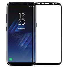 Pellicola in Vetro Temperato Protettiva Integrale Proteggi Schermo Film F12 per Samsung Galaxy S8 Plus Nero