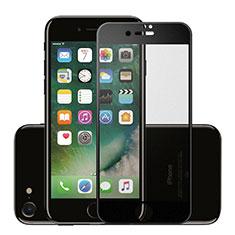 Pellicola in Vetro Temperato Protettiva Integrale Proteggi Schermo Film F16 per Apple iPhone SE (2020) Nero