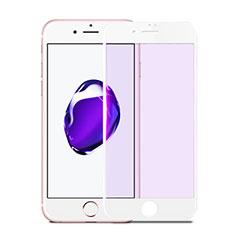 Pellicola in Vetro Temperato Protettiva Integrale Proteggi Schermo Film F17 per Apple iPhone SE (2020) Bianco