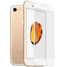 Pellicola in Vetro Temperato Protettiva Integrale Proteggi Schermo Film F18 per Apple iPhone SE (2020) Bianco