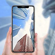 Pellicola in Vetro Temperato Protettiva Integrale Proteggi Schermo Film P04 per Apple iPhone Xs Max Nero