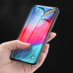 Pellicola in Vetro Temperato Protettiva Integrale Proteggi Schermo Film P08 per Apple iPhone Xs Nero
