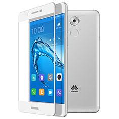Pellicola in Vetro Temperato Protettiva Integrale Proteggi Schermo Film per Huawei Enjoy 6S Bianco