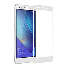 Pellicola in Vetro Temperato Protettiva Integrale Proteggi Schermo Film per Huawei Honor 7 Dual SIM Bianco