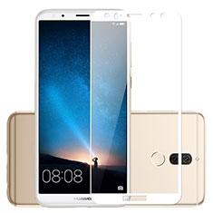 Pellicola in Vetro Temperato Protettiva Integrale Proteggi Schermo Film per Huawei Mate 10 Lite Bianco