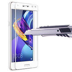Pellicola in Vetro Temperato Protettiva Integrale Proteggi Schermo Film per Huawei Y5 III Y5 3 Bianco