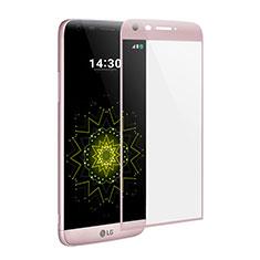 Pellicola in Vetro Temperato Protettiva Integrale Proteggi Schermo Film per LG G5 Rosa