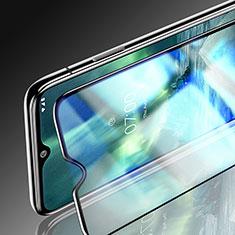 Pellicola in Vetro Temperato Protettiva Integrale Proteggi Schermo Film per Nokia 7.2 Nero