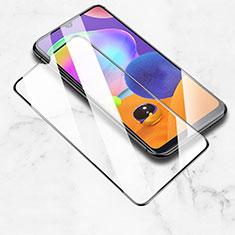 Pellicola in Vetro Temperato Protettiva Integrale Proteggi Schermo Film per Samsung Galaxy A31 Nero