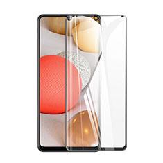 Pellicola in Vetro Temperato Protettiva Integrale Proteggi Schermo Film per Samsung Galaxy A42 5G Nero