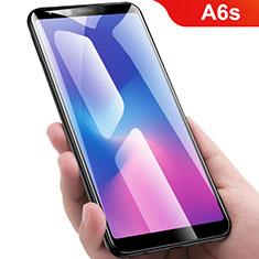Pellicola in Vetro Temperato Protettiva Integrale Proteggi Schermo Film per Samsung Galaxy A6s Nero