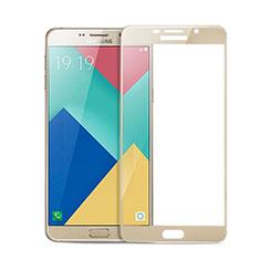 Pellicola in Vetro Temperato Protettiva Integrale Proteggi Schermo Film per Samsung Galaxy A9 Pro (2016) SM-A9100 Oro