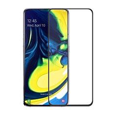Pellicola in Vetro Temperato Protettiva Integrale Proteggi Schermo Film per Samsung Galaxy A90 4G Nero