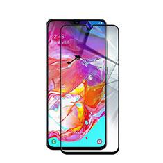 Pellicola in Vetro Temperato Protettiva Integrale Proteggi Schermo Film per Samsung Galaxy A90 5G Nero