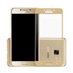 Pellicola in Vetro Temperato Protettiva Integrale Proteggi Schermo Film per Samsung Galaxy C7 SM-C7000 Oro