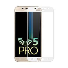 Pellicola in Vetro Temperato Protettiva Integrale Proteggi Schermo Film per Samsung Galaxy J5 (2017) SM-J750F Bianco