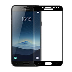 Pellicola in Vetro Temperato Protettiva Integrale Proteggi Schermo Film per Samsung Galaxy J7 Plus Nero