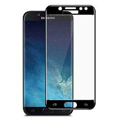 Pellicola in Vetro Temperato Protettiva Integrale Proteggi Schermo Film per Samsung Galaxy J7 Pro Nero
