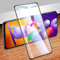 Pellicola in Vetro Temperato Protettiva Integrale Proteggi Schermo Film per Samsung Galaxy M31s Nero