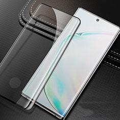 Pellicola in Vetro Temperato Protettiva Integrale Proteggi Schermo Film per Samsung Galaxy Note 10 Plus Nero