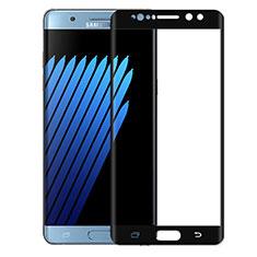 Pellicola in Vetro Temperato Protettiva Integrale Proteggi Schermo Film per Samsung Galaxy Note 7 Nero