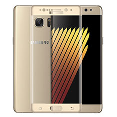 Pellicola in Vetro Temperato Protettiva Integrale Proteggi Schermo Film per Samsung Galaxy Note 7 Oro