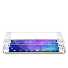 Pellicola in Vetro Temperato Protettiva Integrale Proteggi Schermo Film per Samsung Galaxy Note Edge SM-N915F Bianco