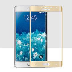 Pellicola in Vetro Temperato Protettiva Integrale Proteggi Schermo Film per Samsung Galaxy Note Edge SM-N915F Oro