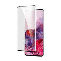 Pellicola in Vetro Temperato Protettiva Integrale Proteggi Schermo Film per Samsung Galaxy S21 Ultra 5G Nero
