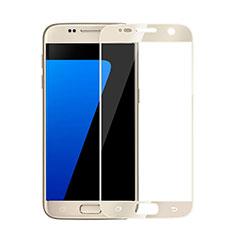 Pellicola in Vetro Temperato Protettiva Integrale Proteggi Schermo Film per Samsung Galaxy S6 Duos SM-G920F G9200 Oro