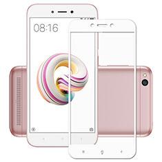 Pellicola in Vetro Temperato Protettiva Integrale Proteggi Schermo Film per Xiaomi Redmi 5A Bianco