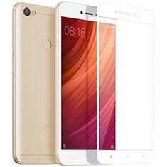 Pellicola in Vetro Temperato Protettiva Integrale Proteggi Schermo Film per Xiaomi Redmi Note 5A High Edition Bianco