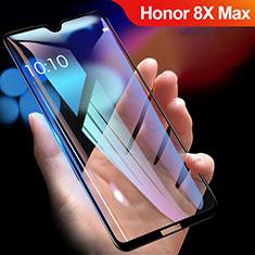 Pellicola in Vetro Temperato Protettiva Integrale Proteggi Schermo Film R01 per Huawei Honor 8X Max Nero
