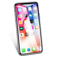 Pellicola in Vetro Temperato Protettiva Integrale Proteggi Schermo Film V02 per Apple iPhone Xs Max Bianco