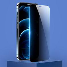 Pellicola in Vetro Temperato Protettiva Privacy Proteggi Schermo Film M01 per Apple iPhone 12 Mini Chiaro