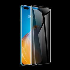 Pellicola in Vetro Temperato Protettiva Privacy Proteggi Schermo Film M01 per Huawei P40 Pro+ Plus Chiaro