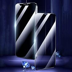 Pellicola in Vetro Temperato Protettiva Privacy Proteggi Schermo Film M02 per Apple iPhone 12 Mini Chiaro
