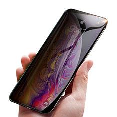 Pellicola in Vetro Temperato Protettiva Privacy Proteggi Schermo Film P01 per Apple iPhone Xs Chiaro