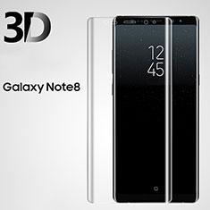 Pellicola in Vetro Temperato Protettiva Proteggi Schermo Film 3D per Samsung Galaxy Note 8 Chiaro