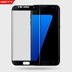 Pellicola in Vetro Temperato Protettiva Proteggi Schermo Film 3D per Samsung Galaxy S7 Edge G935F Nero