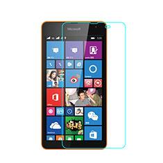 Pellicola in Vetro Temperato Protettiva Proteggi Schermo Film per Microsoft Lumia 535 Chiaro