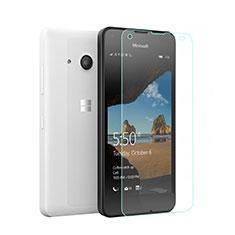 Pellicola in Vetro Temperato Protettiva Proteggi Schermo Film per Microsoft Lumia 550 Chiaro