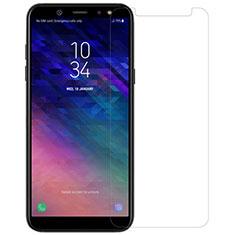 Pellicola in Vetro Temperato Protettiva Proteggi Schermo Film per Samsung Galaxy A6 (2018) Dual SIM Chiaro
