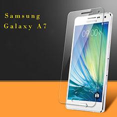 Pellicola in Vetro Temperato Protettiva Proteggi Schermo Film per Samsung Galaxy A7 SM-A700 Chiaro