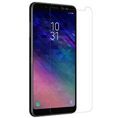 Pellicola in Vetro Temperato Protettiva Proteggi Schermo Film per Samsung Galaxy A8+ A8 Plus (2018) A730F Chiaro